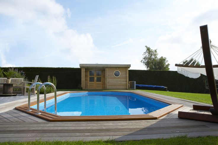 Las 25 mejores ideas sobre piscine octogonale en for Acheter piscine en bois