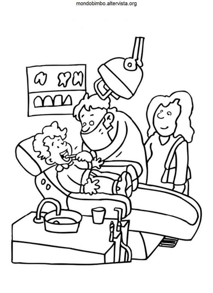Health Care Coloring Pages If you are considering a dental practitioner click on the image to learn more.
