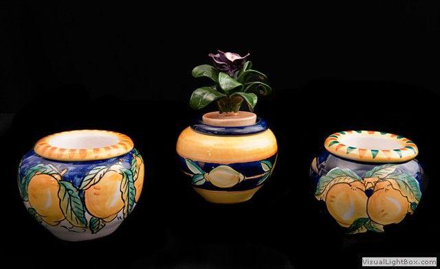 Serie-cache-pot-piccoli-decoro-limoni-nel-blu