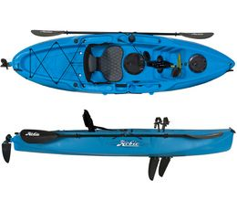 If you would like to own a pedal kayak but find them too pricy in your local stores try to go online. you can get a good deal on your kayak and even find bargains on a motorized kayak. You may find pedal kayaks that are priced until 50% cheaper. You can get your kayak with pedals for a low price along with other kayaking gear.