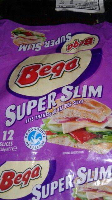 Queso Bega Super Slim  204 calorias x 100 g 23 g de proteinas x 100 g 6.8 g de grasa x 100 g  1740 mg de sodio x 100 g