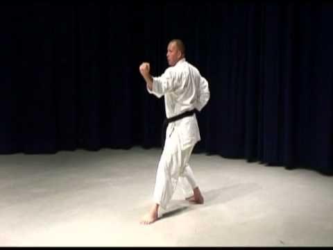 Shotokan karate kata. Bassai Dai, Kanku Dai, Jion, Empi and Hangetsu vid...