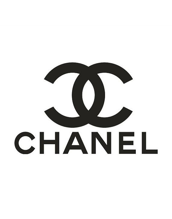 Imprimer Impression De Chanel Logo Mode Impression Coco Chanel Coco Chanel Logo Wall Decor