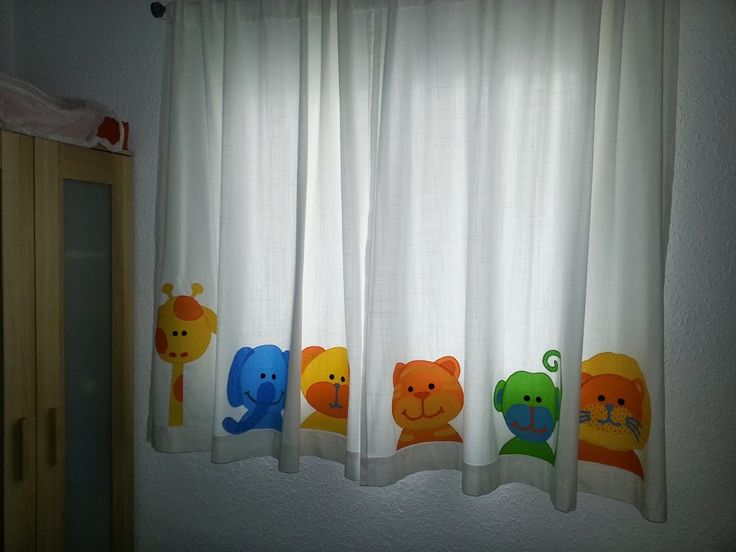 cortina infantil