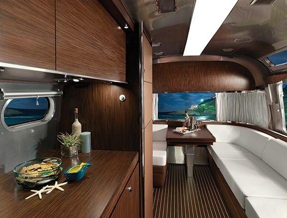 Land Yacht Trailer Decor and Interiors | Airstream