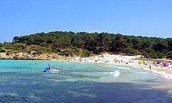 Strand Cala d'Or Het strand in de baai van Cala d'Or is een zeer helder en fijn zandstrand. Het strand van Cala d'Or is gemakkelijk voor de vakantiegangers vanuit de stad te voet te bereiken. Er is een restaurant, er zijn douches en toiletten en een openbare telefooncel. De overgang naar de zee is relatief vlak en geschikt voor families met kinderen.