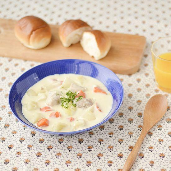 【料理家さんの定番レシピ】第7話:手づくり濃厚クリームシチュー