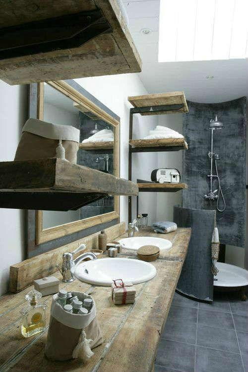 ESTILO INDUSTRIAL EN EL BAÑO / Industrial style in the bathroom | OASISINGULAR