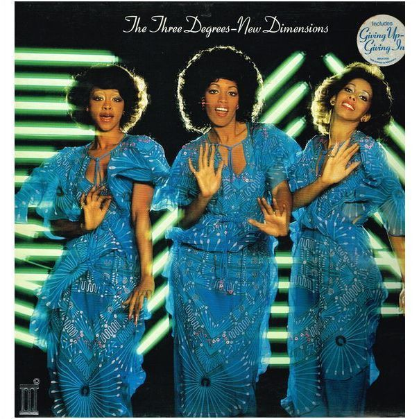 The Three Degrees New Dimensions 6 Track Lp Classic Album