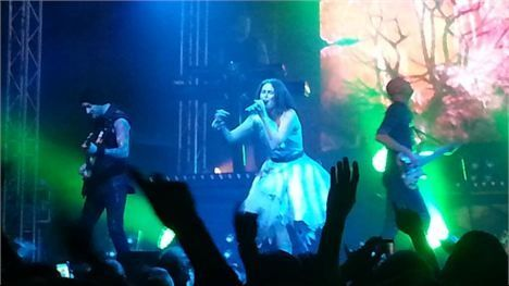 It was an amazing show in Pijnacker and her dress was so pretty ♥ ~ April 27th 2013