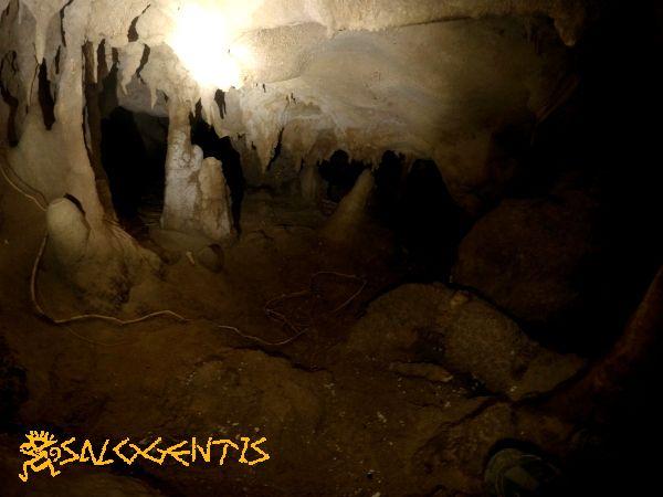 Grotta del Leone, piccola e tortuosa cavità nella caletta di Porto Badisco.