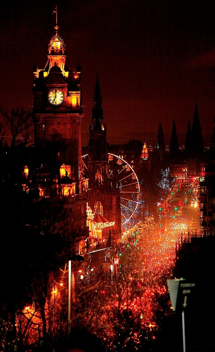 Edinburgh's Christmas and Hogmanay events are spectacular, not least of which is the torchlight procession headed up by Lerwick's Jarl's Squad. We watched the festivities this year from the Mound then walked to Calton Hill to see the fireworks and it was quite simply amazing. A great time to visit Edinburgh, but bring your woollies!