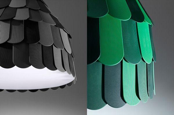 DIY Pendant Lamp by Benjamin Hubert
