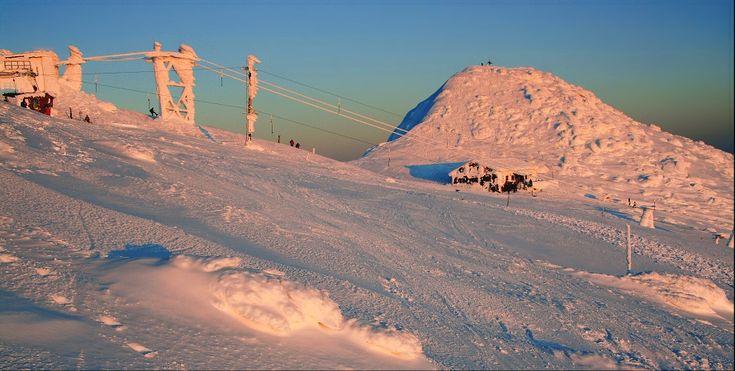 Nízké Tatry - hora Chopok s Kamennou chatou od Tomáše Šeredy