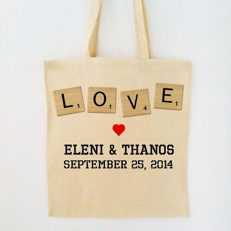 It's A Love Game Bag - Προσωποποιημένη υφασμάτινη τσάντα για να το shopping, την παραλία και όχι μόνο!