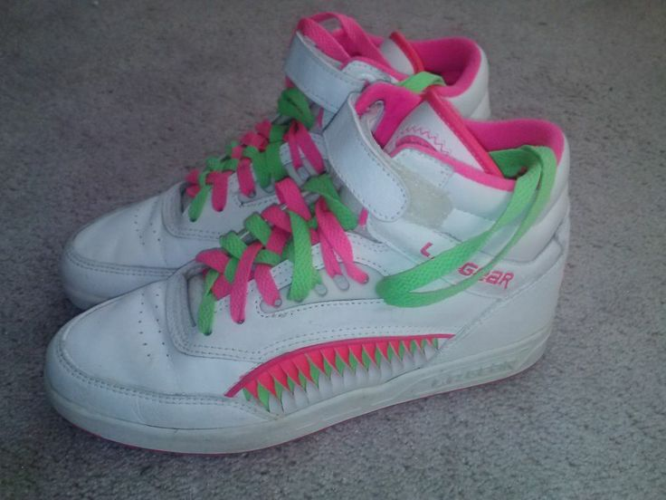 Neon Tennis Shoes Women