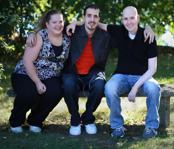Survivors of pediatric brain tumors share a special bond ((from left) Katie Nickerson, 26, Bernard Manning, 28 and Jack Coates, 32). Katie was 8 when she was diagnosed with a craniopharyngioma. Manning was diagnosed at 18 with an aggressive brain tumor medulloblastoma. Coates was also diagnosed  with medulloblastoma in 2001 at 19, after finishing his freshman year at Johnson & Wales University in Rhode Island. (Oct 7, 2013 - BostonGlobe.com)