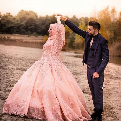 "485 Likes, 8 Comments - Muslim Wedding Inspo (@muslimweddinginspo) on Instagram: ""This dress is so beautiful!! ❤❤ #muslimwedding #islam #muslim #hijabstyle #hijabibride #hijabbride…"""