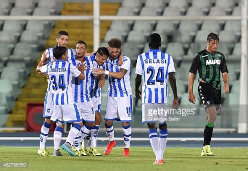 PESCARA, ITALY - AUGUST 02: Gianluca Lapadula of Pescara... #pescara: PESCARA, ITALY - AUGUST 02: Gianluca Lapadula of Pescara… #pescara