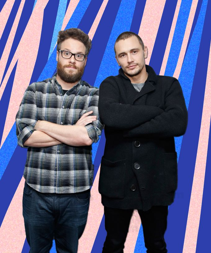 Here's A Cute Reminder Of How Long James Franco & Seth Rogen Have Known Each Other