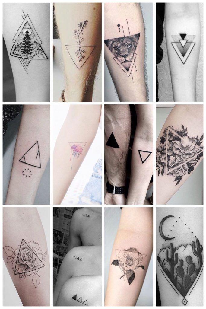 Ongebruikt De allermooiste driehoek tattoos (en hun betekenis) (met KC-44