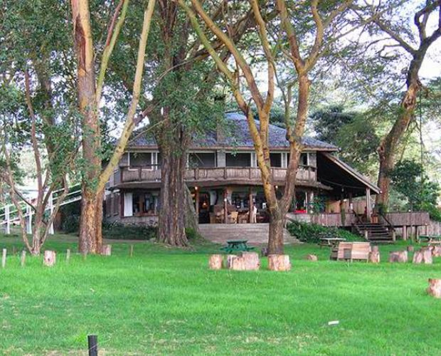 Fisherman's Camp - is situated on the shores of Lake Naivasha, within the spectacular Great Rift Valley. The spacious camp extends from under a beautiful canopy of acacia trees up into the hills where you can enjoy breathtaking views of the lake and surrounding areas. The Camp has a range of cottages and bandas (small chalets) to suit all budgets either at the lake edge on bottom camp, or overlooking spectacular lake views at Top Camp.