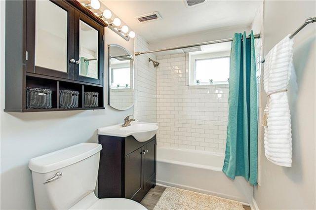this bathroom needed drywall repairs baseboards window repairs and rh pinterest com