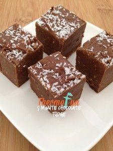 ThermoFun – Week 44 – 5 Minute Chocolate Fudge Recipe