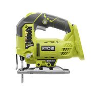 Check out this RYOBI product -   	  RYOBI® delivers value and performance with more power and upgraded features than ever before. Introducing the RYOBI® 18V ONE+™ Orbital Jig Saw, featuring a new, more powerful motor that provides cutting performance equivalent to a corded jig saw, but with the portable convenience of a battery operated tool. This new Jig Saw also features the patented BladeSaver™ innovation to get the most use from every Jig Saw blade. A first-to-market innovation, the…