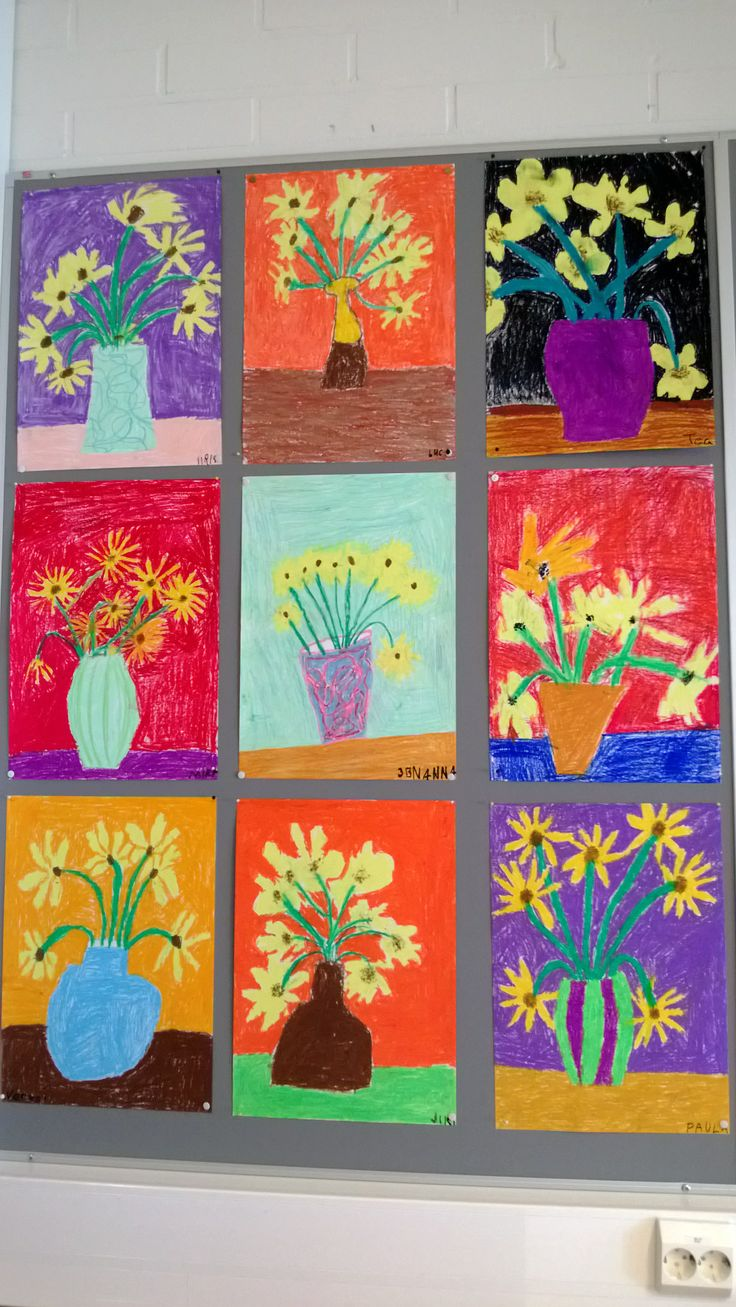 Auringonkukat Van Gogh mukaan