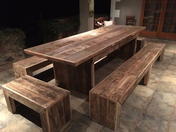 If you need something different for that unique look or feel visit www.ccreations.co.za or our Facebook page. We create exclusive and beautiful pallet furniture from a mix of recycled wood. Mail us for a price list if you looking for that exciting look.