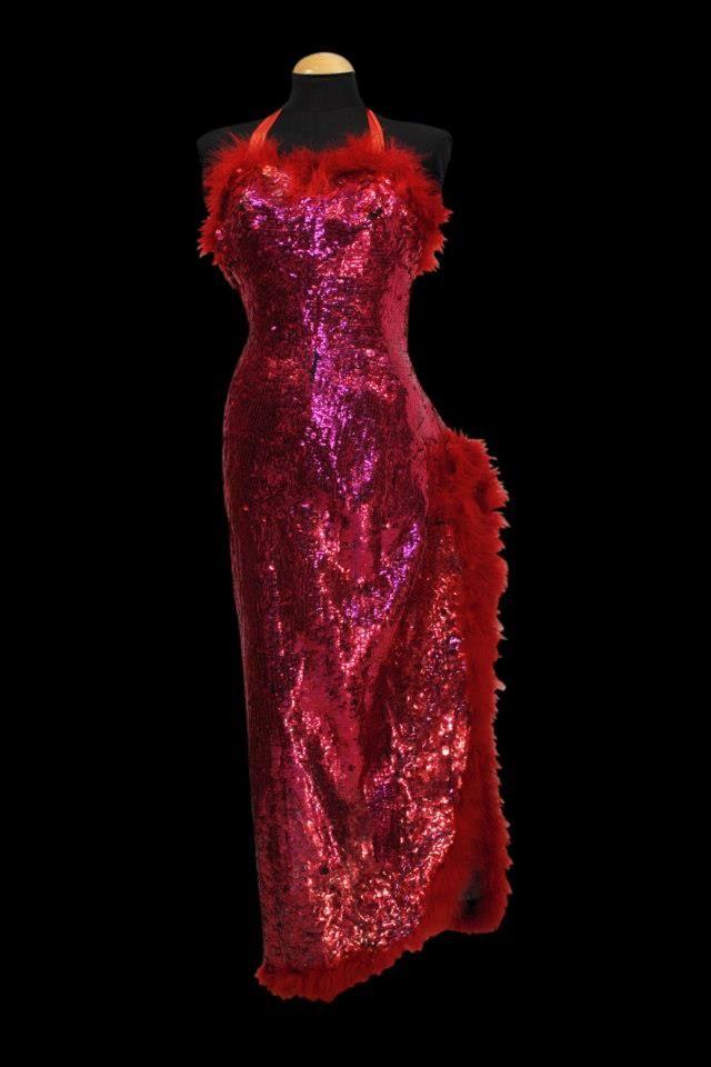 Vestido largo fantasía #vestuario