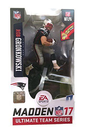 NFL Madden 17 UT Series 1 Rob Gronkowski Exclusive Action Figure