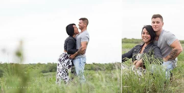 Logan Ireland and Laila Villanueva. US Army soldiers. Both ...