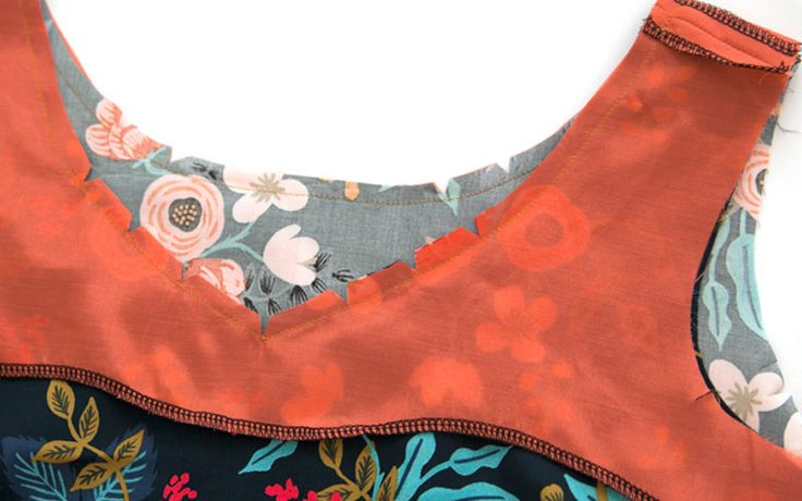 Understitching, edgestitching, and topstitching | Colette Blog