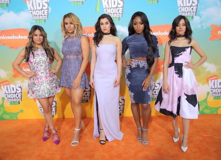 Fifth Harmony Kids Choice Awards 2016