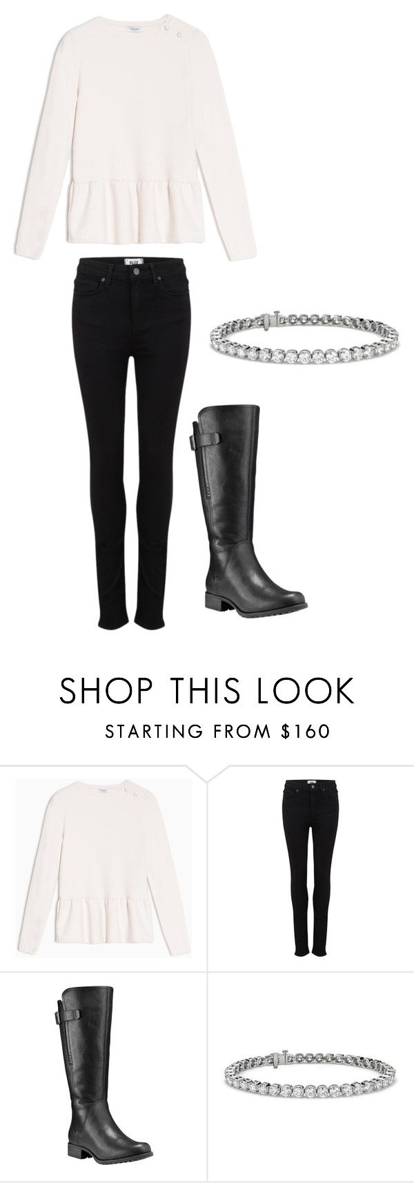 """""""Tuesdays Outfit"""" by thea-sangberg on Polyvore featuring Max&Co., Paige Denim, Timberland and Blue Nile"""