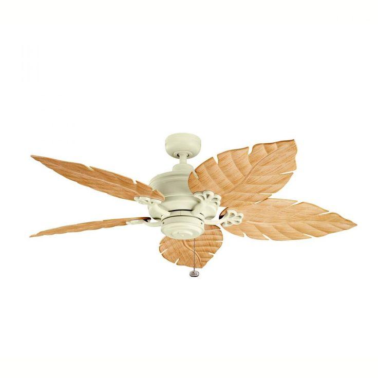 adobe cream outdoor fan 320102adc denney lighting u0026 design tropical ceiling fansoutdoor