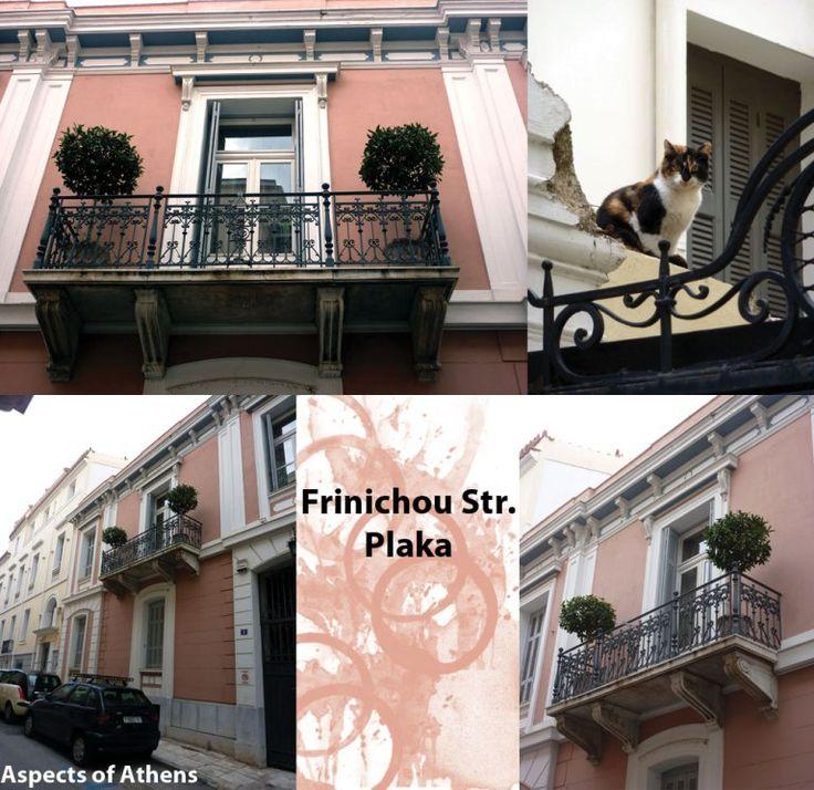 neoclassical building in frinichou street plaka