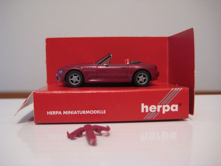 BMW Z3 Cabrio * (E36/7) 1:87 * Herpa 031936
