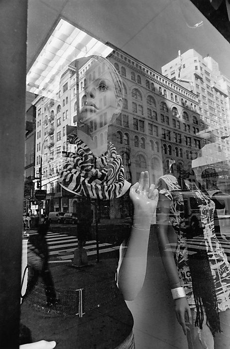 The journey theme   Lee Friedlander's mastery of mannequins