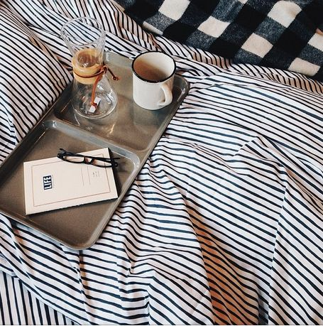 #bedroom #bed #goodmorning #sleep #cozy #morning #relax #cup #book #reading #rest #coffee