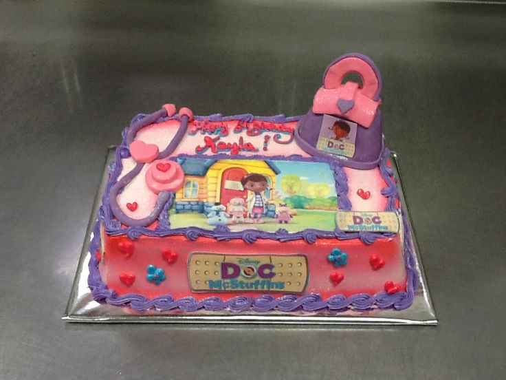 Cake Design Catalogue : Doc Mcstuffins cake. children / young adult cakes ...