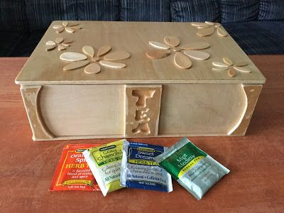 Baltic Birch Plywood Tea Box