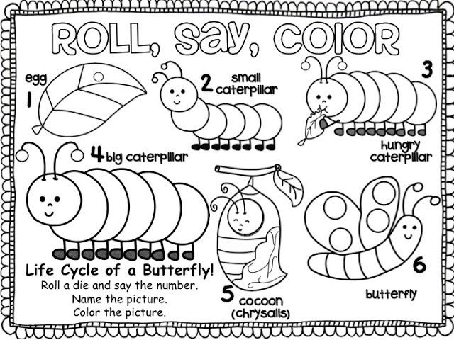 This Site Has Lots Of Free Preschool Coloring Pages