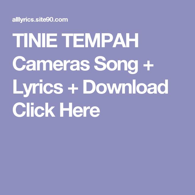 TINIE TEMPAH Cameras Song + Lyrics + Download  Click Here