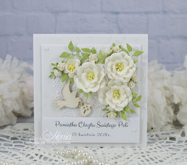 Na Chrzest Cards Handmade Cards Paper Crafts