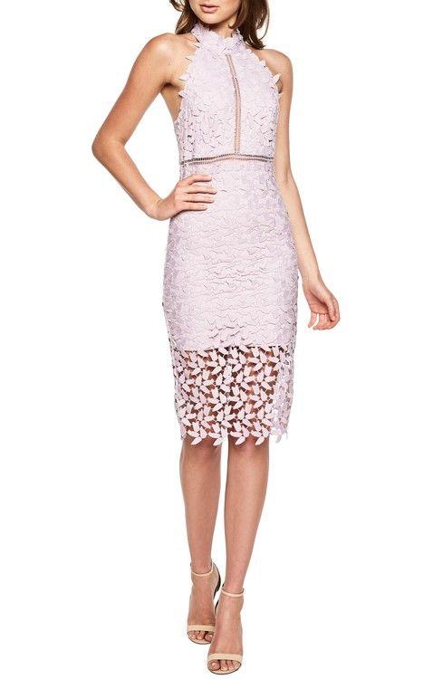 lavender lace midi wedding guest dress  2ea25ad0f