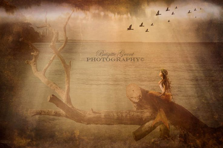 'Sirene des iles' published in Conceptual Magazine Issue 3  Photo: Brigitte Grant PHotography©  Make-up: Corinne Govan