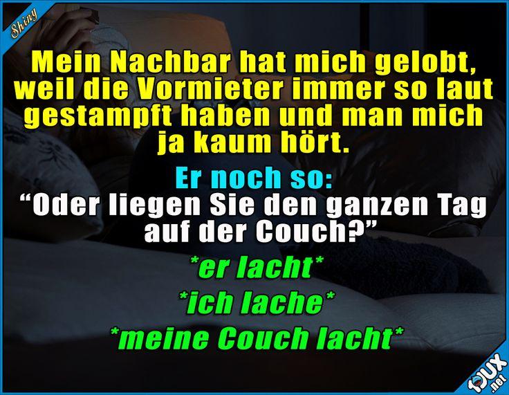 Dich Couch ist eben mein Lieblingsort ^^'  #Humor #lachen #Witze #lustigeSprüche #lustigeBilder #Jodel #lustig #funny